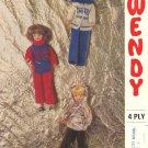 Vintage knitting pattern for fashion dolls Sindy Barbie Wendy 1756 PDF
