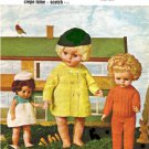 "Vintage knitting pattern for Dolls clothes 12 - 20"" dolls. Bairnswear 1695."