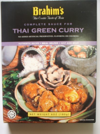 Brahim's Thai Green Curry