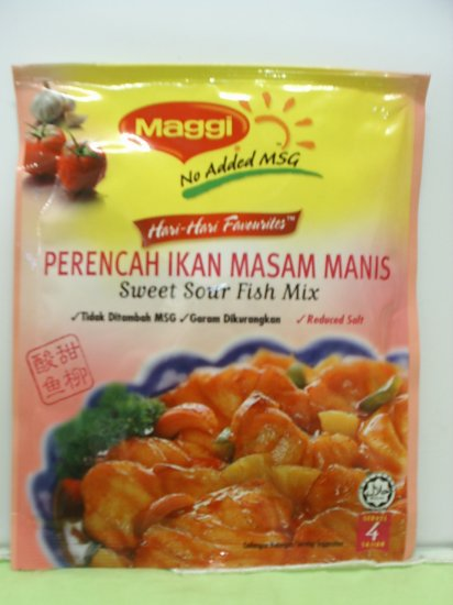 Maggi Sweet & Sour Fish Mix