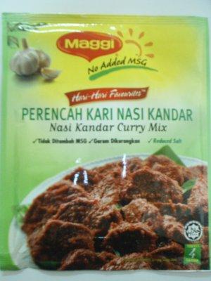 Maggi Nasi Kandar Curry Mix