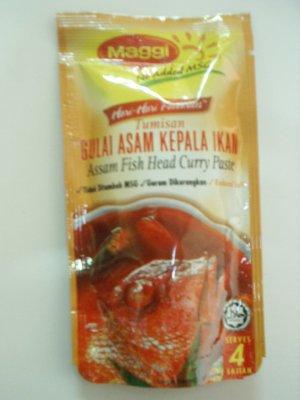 Maggi Assam Fish Head Curry Paste