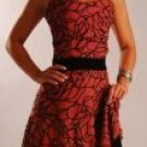 Velvet Spider Web Dress Medium