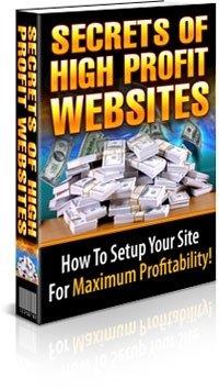 Secrets To High Profit Websites