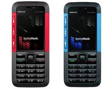 Nokia 5310 XpressMusic Quadband 3G Unlocked Phone (SIM Free) + 2GB Memory Card