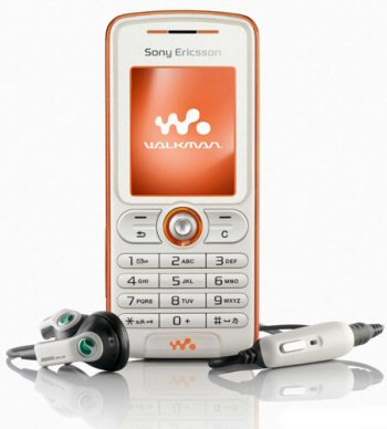 Sony Ericsson W200i Triband Walkman Unlocked Phone (SIM Free) + 256MB Memory Card