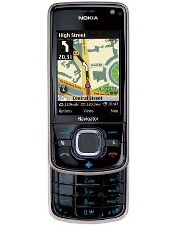 Nokia 6210 Navigator Quadband 3G HSDPA GPS Unlocked Phone (SIM Free) + 1GB Memory Card