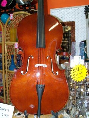cello with bag & bow
