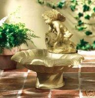 Cherub Water Fountain - charismatic cherub water fountain