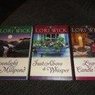 Lori Wick 3 books Tucker Mills Trilogy