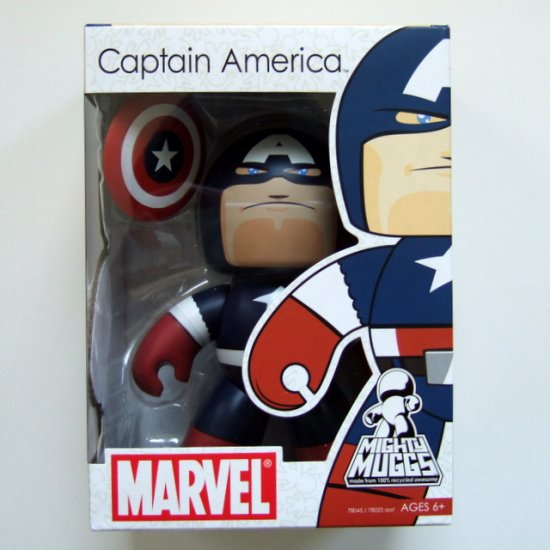 Marvel Mighty Muggs Captain America Brand New