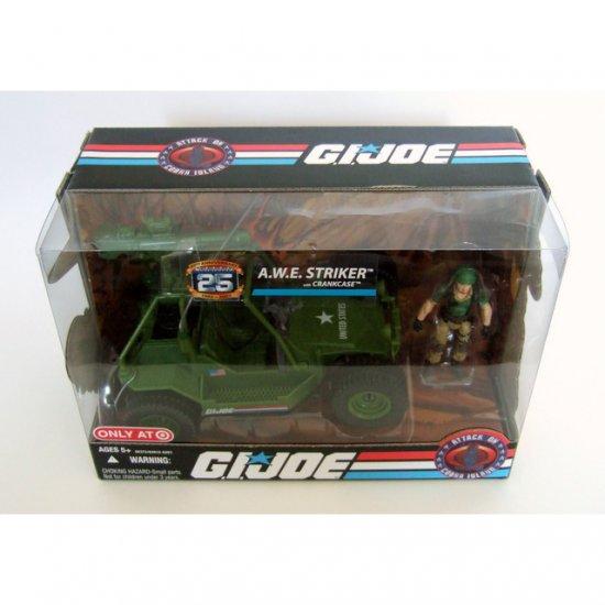 GI JOE 25th Anniversary A.W.E. Striker Target Exclusive