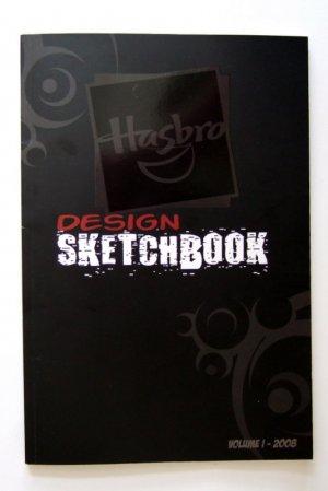 2008 SDCC Exclusive Hasbro Design Sketchbook Transformers GI Joe Star Wars Brand New