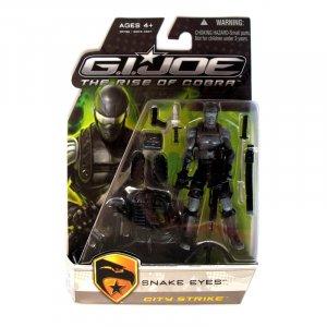 G.I. Joe Movie Rise of Cobra ROC Snake Eyes City Strike Brand New
