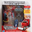 Transformers Prime Optimus Prime RID Robot in Disguise Voyager Class New MISB