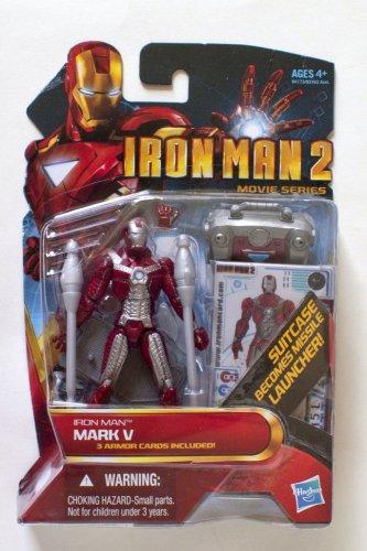 Iron Man 2010 Movie Series Iron Man Mark V Suitcase #11 3.75 Inch Brand New