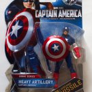 Captain America 2011 Heavy Artillery Captain America #002 3.75 Inch Brand New