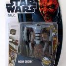 Star Wars The Clone Wars CW10 Aqua Droid TCW MOSC Brand New