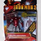 "Iron Man 2010 Comic Iron Man Silver Centurion Mark XII #34 3.75"" Brand New"