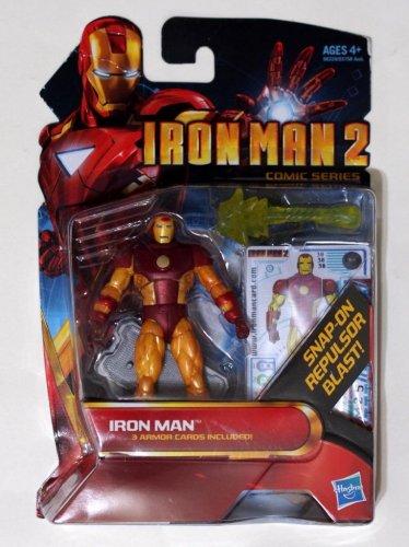 "Iron Man 2010 Comic Series Iron Man Oversize Mark XIV #30 3.75"" Brand New"