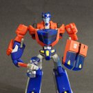 Transformers Animated Cybertron Mode Optimus Prime Deluxe Class Loose Hasbro