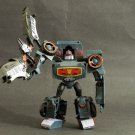 Transformers Animated Deluxe Electrostatic Soundwave w/ Ratbat Loose Complete