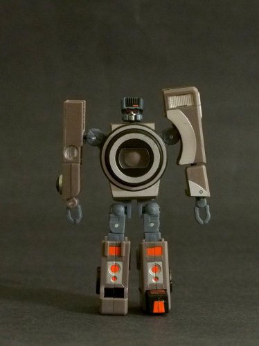 Transformers Movie Spy Shot 6 Real Gear Robots Hasbro