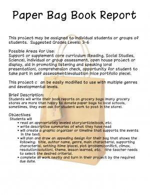 Paper Bag Project