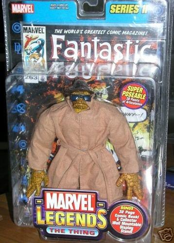 "Marvel Legends 70151: Fantastic Four #263 Thing 6"" Toybiz Series II, 2002 Walmart Exclusive"