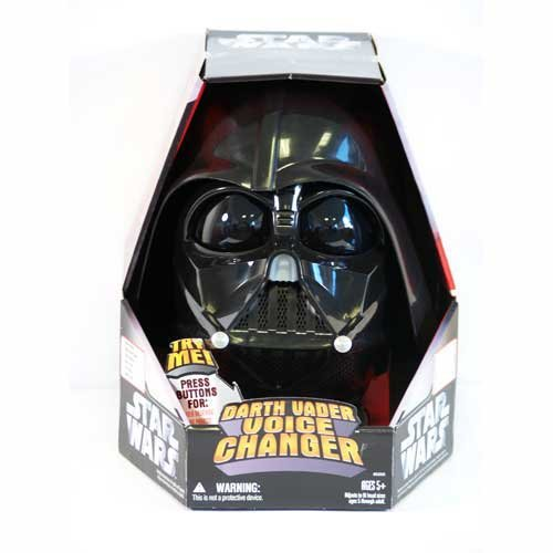 Star Wars Darth Vader Voice Changer Mask Helmet Costume Prop Replica Life Size 1:1 Boxed New