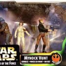 Hasbro #69868: Exogorth Mynock Hunt Han, Leia, Chewie 3.75 Star Wars POTF 1998 [AFA Collector Grade]