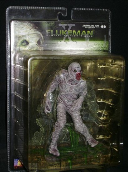 X-Files Flukeman McFarlane (Spawn) Collector Special Edition Figure | Movie Maniacs Monster