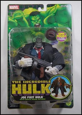 Joe Fixit Grey Hulk Classics ToyBiz Marvel Legends 2004 Avengers Defenders