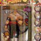 ReSaurus Capcom Street Fighter Round 1 Vega variant figure MIP SOTA