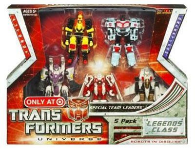 G1 Classic Universe-Legends Team Leaders 5-Pack-MISB Transformers Hasbro-Takara