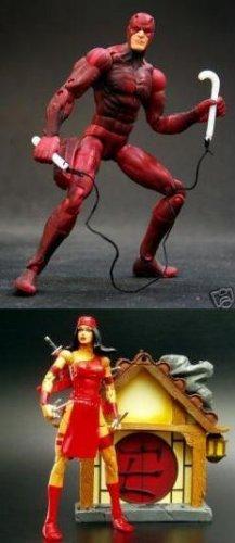 Marvel Legends Spider-Man Daredevil & Elektra Action Figures Set [nick/dent]