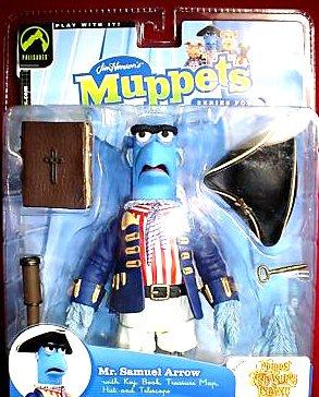 "Sam the Eagle Disney Muppet Action Figure 6"" Palisades 2003 | Henson Muppet Treasure Island"