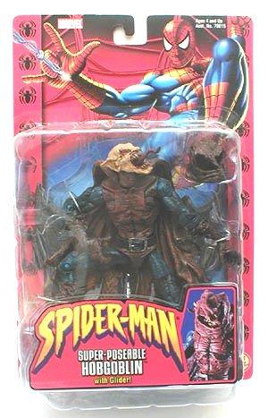 Hobgoblin Marvel Legends McFarlane Super Poseable Spider-Man Classics 2002
