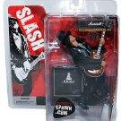 "Guns N' Roses Slash McFarlane Deluxe 6"" Figure 2005 Spawn • Guitar Stage Set • Saul Hudson"