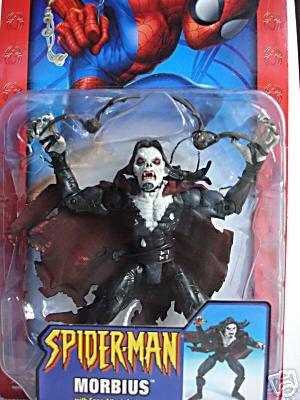 "Spider-Man Classic (Ghost Rider): Morbius Toybiz 2004 Marvel Legends 6"" AF Vampire"