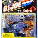 GI Joe Cobra 2-Pk: General Hawk vs Headman DEF Kingpin, 2002 Hasbro #57470 ARAH 20th Anniv.