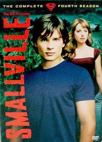 Smallville Complete Fourth Season 4 (6-Disc DVD, 2005 WB-DC Superman) Tom Welling Kristin Kreuk