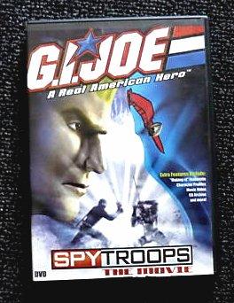 GI Joe vs Cobra: SpyTroops Movie [DVD] new sealed OOP, 2003 Hasbro Spy Troops