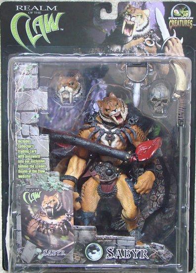 Stan Winston Realm of the Claw SABYR Cat Figure (MOTU Conan Thundercats)