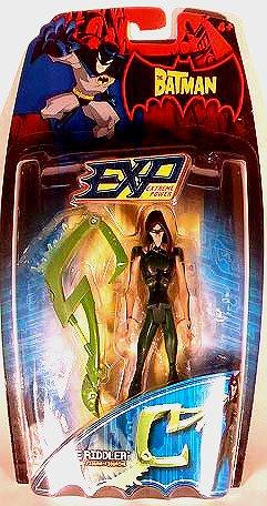 The Riddler Batman Animated btas AF Gotham villain, Mattel EXP DC Comics 2004