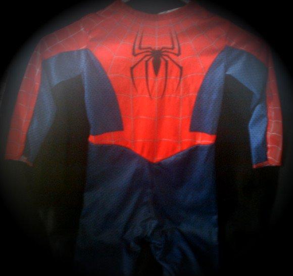 Spider-Man 2 (2004 Movie) Costume Prop Replica | Boys Role Play Superhero Suit (Pretend Dress-Up)