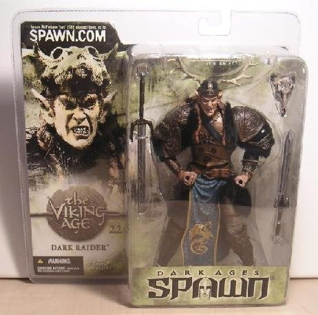"Dark Ages Spawn Series 22: The Viking Age - Dark Raider 6"" AF McFarlane Toys 11265"