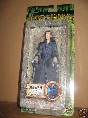 "Lord+of+the+Rings Arwen Evenstar ToyBiz LOTR Trilogy FOTR Liv Tyler 6"" Figure 2004 Gentle Giant"