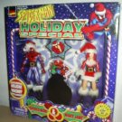Spider-Man Peter & MJ Marvel 2 Figure Gift Pack + Ornament Set Mary Jane Santa-Xmas Gift-Toybiz 1997