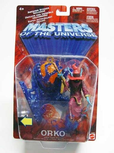 Mattel Toys 55990 MOTU Orko 200x He-Man Masters/Universe Hi-Grade AFA